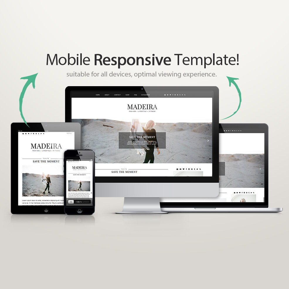 Blogger template madeira blogger templates wordpress for Blogger product review template