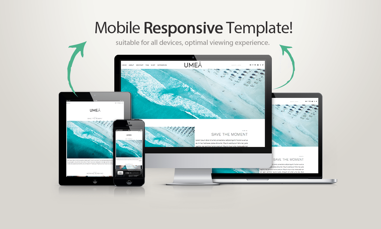 Blogger template umea blogger templates wordpress for What is a responsive template