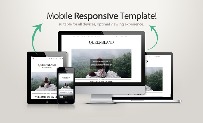 Responsive WordPress Theme Queensland