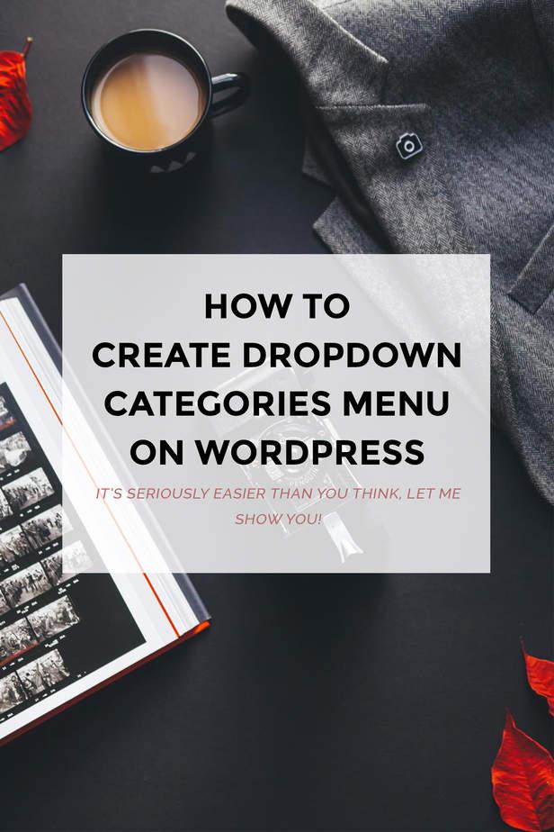 dropdown menus on wordpress