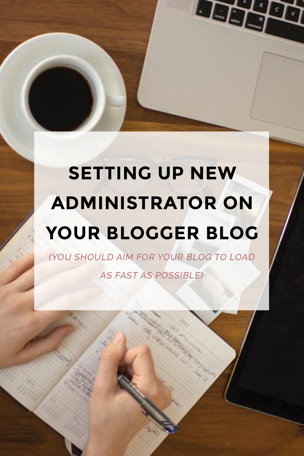 Setting Up A New Administrator On Your Blogger Blog