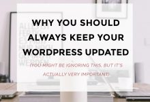 Why You Should Always Keep Your WordPress Updated